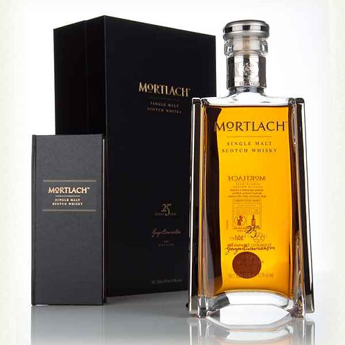 Mortlach 25 Years Speyside Single Malt Scotch Whisky 500ml