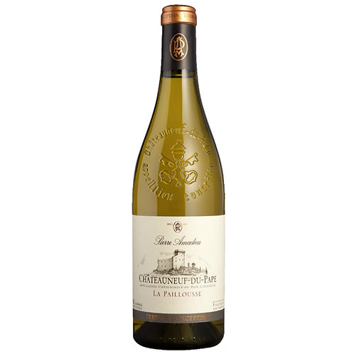 Pierre Amadieu Chateauneuf-du-Pape Blanc 2018 White Wine Rhone, France
