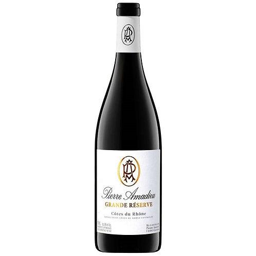 Pierre Amadieu Cotes du Rhone Grande Reserve Rouge 2015 Red Wine - Rhone, France
