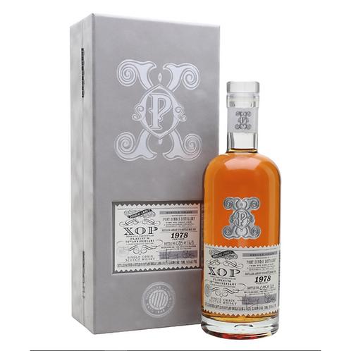 XOP Xtra Old Particular Port Dundas 40Yr Single Cask Lowland Grain Scotch Whisky
