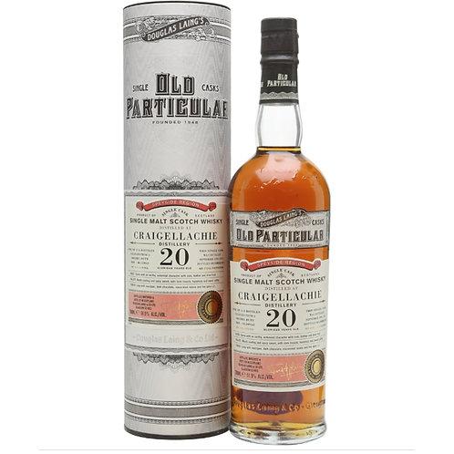 Old Particular Craigellachie 20Yrs Single Cask Speyside Malt Scotch Whi