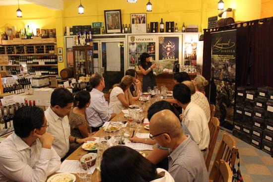 Langmeil Dinner at 38 Holland Grove