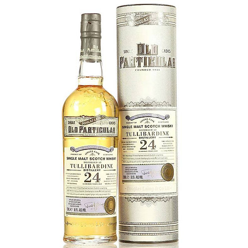 Old Particular- Tullibardine 24 Years Single Cask Highland Scotch Malt Whisky