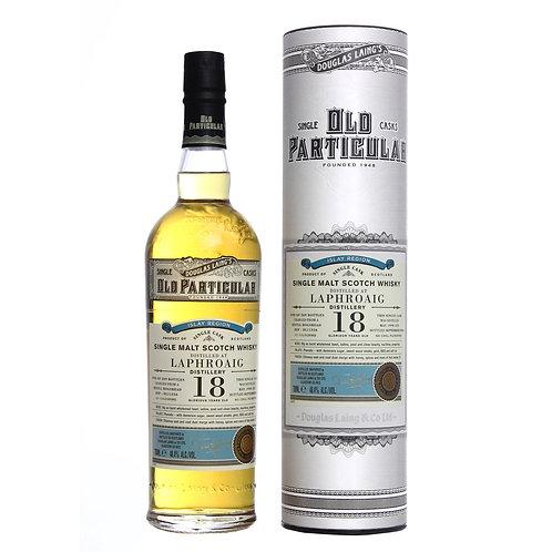 Old Particular Laphroaig 18 Yrs Single Cask Islay Malt Scotch Whisky