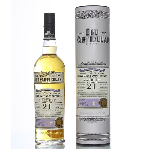Old Particular Macduff 21 Yrs Single Cask Highland Malt Scotch Whisky
