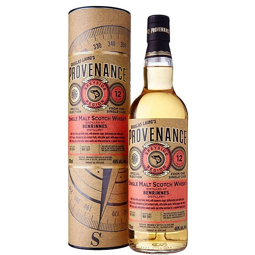 Provenance - Benrinnes 12 Years Single Cask Speyside Scotch Malt Whisky