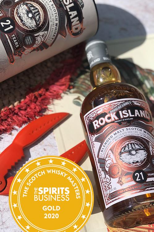 Rock Island 21 Years - Islands Malt Scotch Whisky