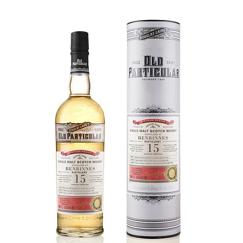 Old Particular - Benrinnes 15 Years Single Cask Speyside Scotch Malt Whisky