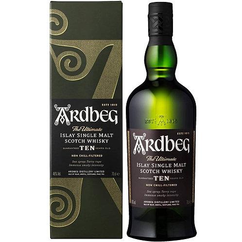 Ardbeg Ten Years Islay Single Malt Scotch Whisky