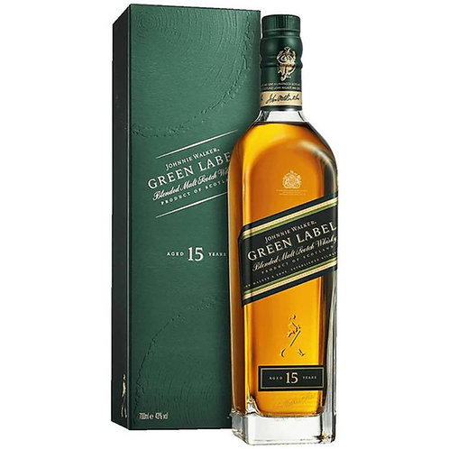 Johnnie Walker Green Label 15 Years Malt Scotch Whisky