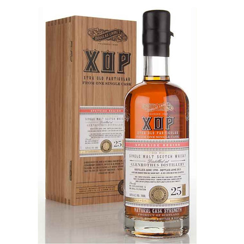 XOP Xtra Old Particular Glenrothes 25yrs Single Cask Speyside Single Malt Scotch