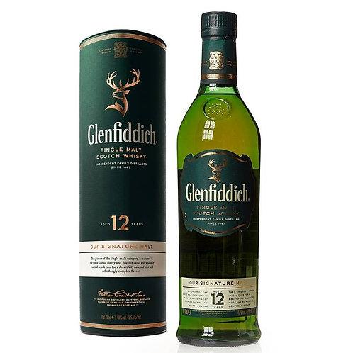 Glenfiddich 12 Years Single Malt Speyside Scotch Whisky