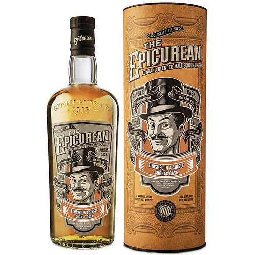 The Epicurean Cognac Edition - Lowlands Malt Scotch Whisky