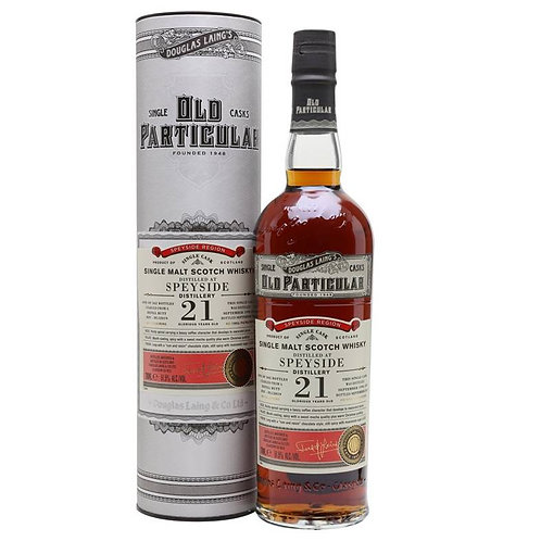 Old Particular Speyside Distillery 21Yrs Single Cask Speyside Malt Scotch Whisky