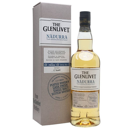The Glenlivet- Nadurra Peated Cask Finish Single Malt Speyside Scotch Whisky