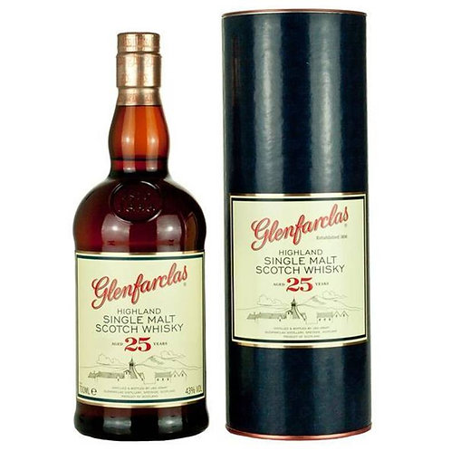 Glenfarclas 25 Years Single Malt Speyside Scotch Whisky