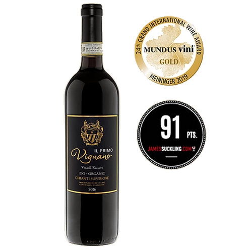 Vignano Il Primo Chianti Superiore DOCG 2016 Red Wine - Tuscany, Ital