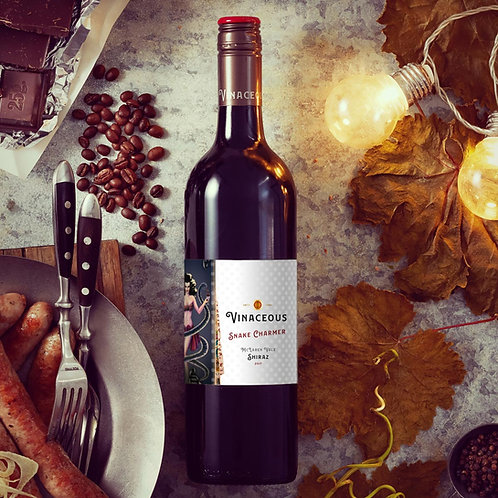 Vinaceous 'Snake Charmer' Shiraz 2017 Red Wine - McLaren Vale, Australia
