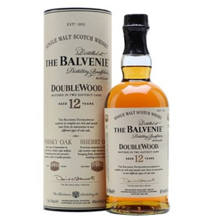 Balvenie DoubleWood 12 Years Single Malt Speyside Scotch Whisky