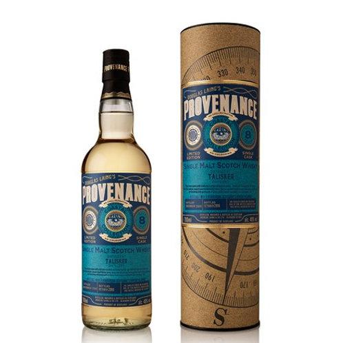 Provenance - Talisker 8 Years Old Coastal Collection Islay Malt Whisky