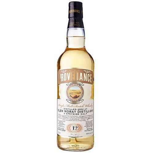 Provenance - Glen Moray 12 Years Single Cask Speyside Scotch Malt Whisky