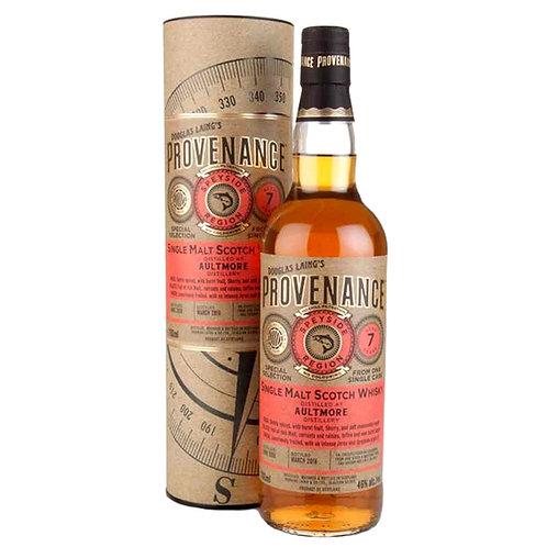 Provenance - Aultmore 7 YO Single Cask Speyside Malt Whisky