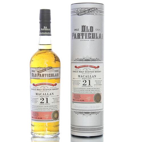 Old Particular Macallan 21Yrs Single Cask Speyside Malt Scotch Whisky