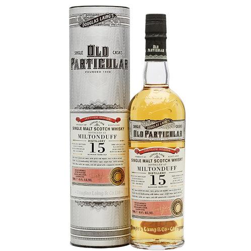 Old Particular Miltonduff 15Yrs Single Cask Speyside Malt Scotch Whisky