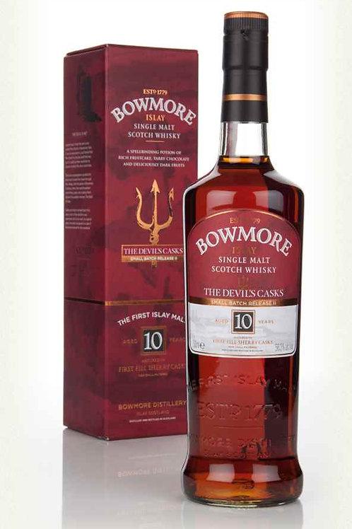 Bowmore 10 Years Devil Cask 2 Single Malt Islay Scotch Whisky
