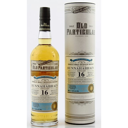 Old Particular Bunnahabhain 16Yrs Single Cask Islay Single Malt Scotch Whisky