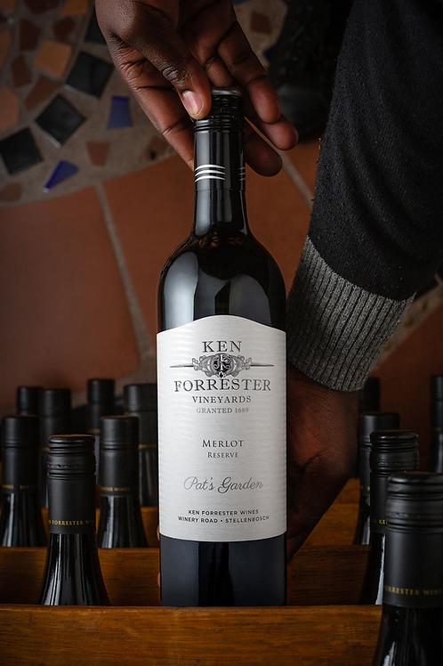 Ken Forrester Pat's Garden Merlot 2016 Red Wine - Stellenbosch, South Africa