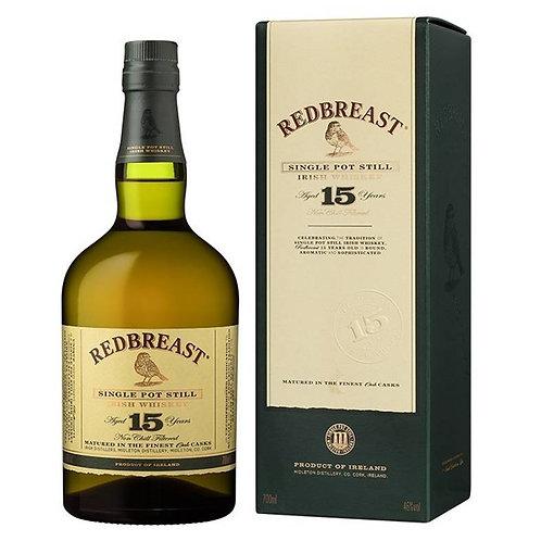 RedBreast 15 Years Irish Single Pot Still Whiskey