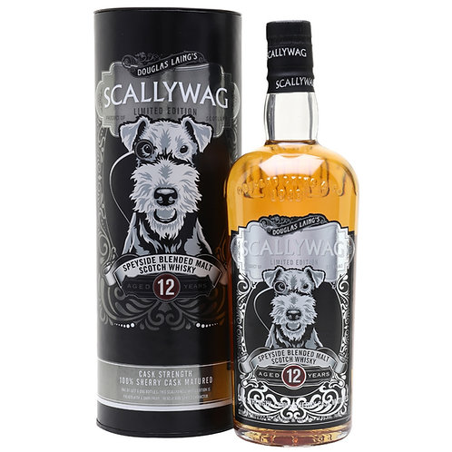 Scallywag 12 Years Cask Strength Limited Edition - Speyside Malt Scotch Whisky