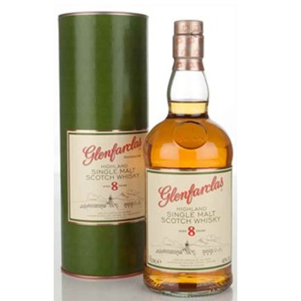 Glenfarclas 8 Years Single Malt Speyside Scotch Whisky