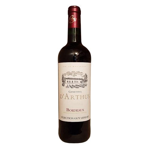 Genevieve D'Arthus 2018 Red Wine - Bordeaux, France