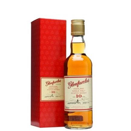 Glenfarclas 10 Years Single Malt Speyside Scotch Whisky 350ml