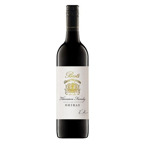 Best's Great Western Thomson Family Shiraz 2006 Red Wine - Victoria, Australia