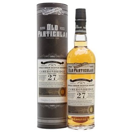Old Particular Cameronbridge 27 Yrs Single Cask Highland Grain Scotch Whisky