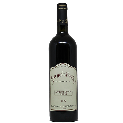 Greenock Creek 'Apricot Block' Shiraz 2000 Red Wine - Barossa, Australia