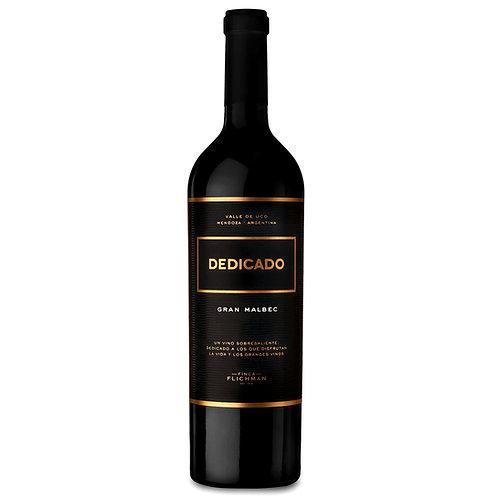 Flichman Dedicado Tupungato Gran Malbec 2017 Red Wine - Mendoza, Argentin
