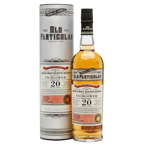 Old Particular- Inchgower 20Years Single Sherry Cask Speyside Scotch Malt Whisky