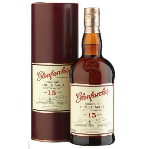 Glenfarclas 15 Years Single Malt Speyside Scotch Whisky
