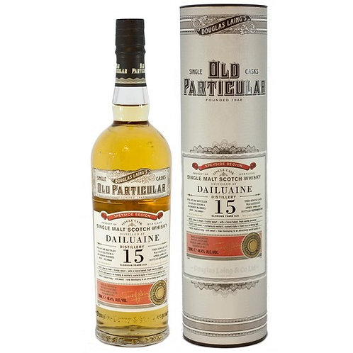 Old Particular- Dailuaine 15 Years Single Cask Speyside Scotch Malt Whisky