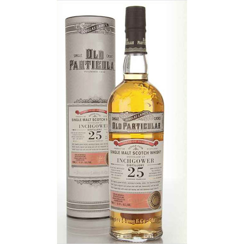 Old Particular Inchgower 25Yrs Single Cask Speyside Malt Scotch Whisky