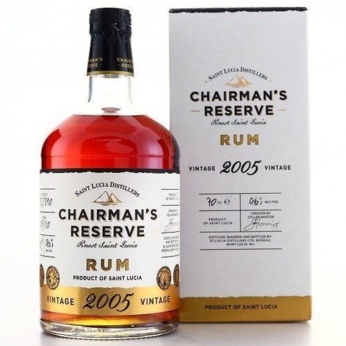 Chairman's Reserve Vintage 2005 Rum St. Lucia