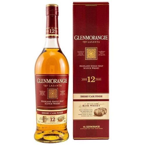 Glenmorangie Lasanta 12 Years Single Malt Highland Scotch Whisky
