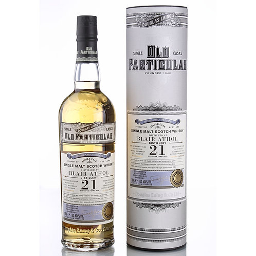 Old Particular Blair Athol 21Yrs Single Cask Highland Malt Scotch Whisky