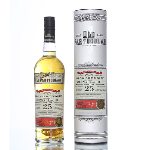 Old Particular Glenallachie 25Yrs Single Cask Speyside Malt Scotch Whisky