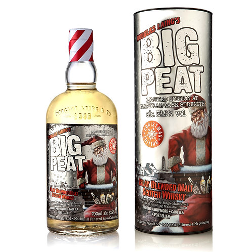 Big Peat Christmas 2018 Cask Strength Limited Edition - Islay Malt Scotch Whisky