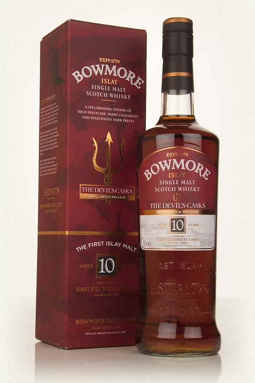 Bowmore 10 Years Devil Cask 1 Single Malt Islay Scotch Whisky